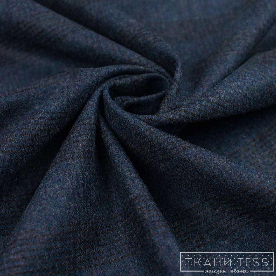 Купить Кашемир костюмный Piacenza арт. 09.0137 (Синий) Piacenza 09.0137 – цена за метр в интернет магазине, доставка по Москве